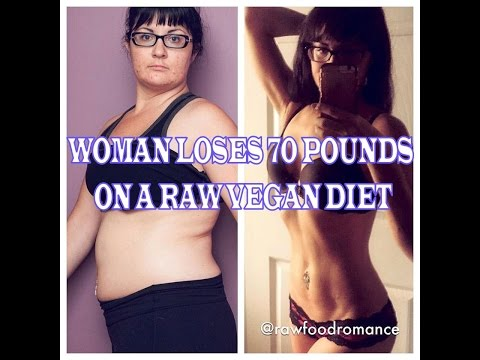 Woman Loses 70lbs, Acne, Cellulite and More on a Raw Vegan Diet