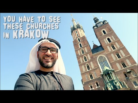 MUST SEE Churches of KRAKOW POLAND