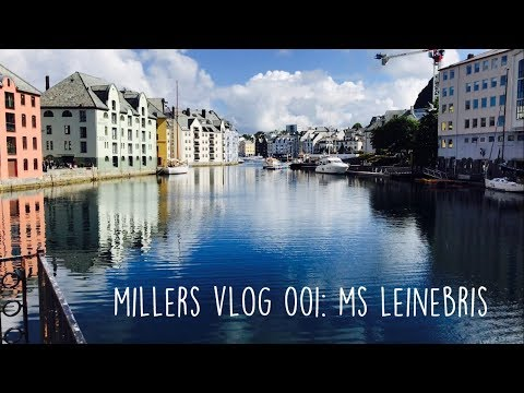 Millers Fish And Chips - Visiting The MS Leinebris Vessel In Norway