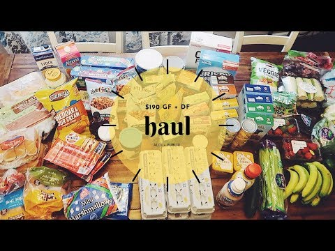$190 DAIRY FREE + GLUTEN FREE GROCERY HAUL | CAKE MIX STOCK UP + PARTY FOOD