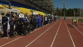 В Ханты-Мансийске проходят соревнования по легкой атлетике(, 2017-05-26T14:55:07.000Z)