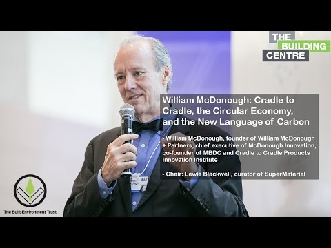 William McDonough: Cradle to Cradle, the Circular Economy, and the New Language of Carbon