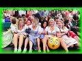 Teufelsrad - Damen Fahrt Oktoberfest München 2019   Devils Wheel Girls Ride   Crazy Bavarian Girls