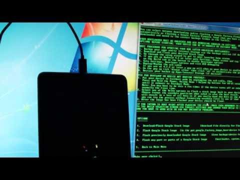 Простой ОТКАТ Nexus 7 с  android 5.1.1 до шустрика 4.3!  (1 часть) Get back Nexus7