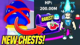 I GOT THE RAREST PET IN NEW ICE CREAM SIMULATOR CHESTS UPDATE!! *OMG* (Roblox)