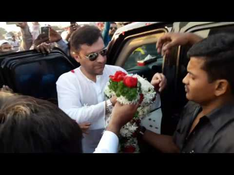 GRAND  ENTRY OF AIMIM  AKBARUDDIN  OWAISI IN  PUNE