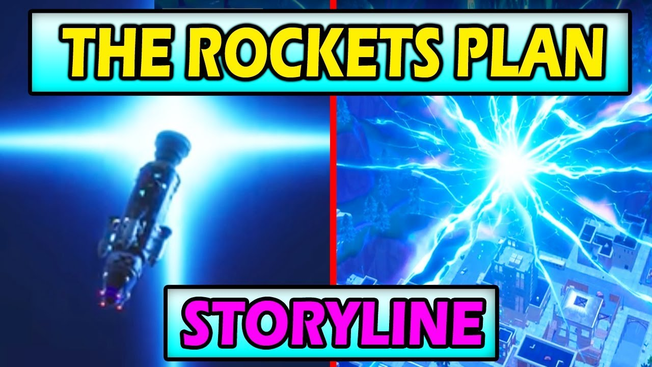 THE ROCKET CAN TRAVEL THROUGH TIME! *LAUNCH* Fortnite Season 4 Storyline SOLVED!