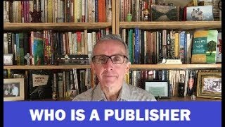 The Changing Scope of Who is a Publisher