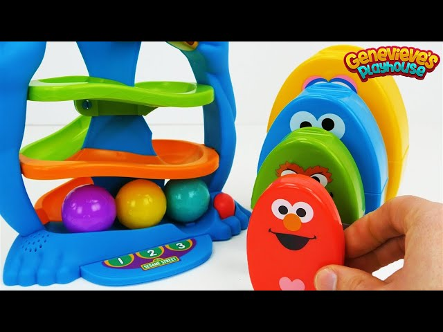 Best Toy Learning Video for Baby - Teach Colors with Cookie Monster