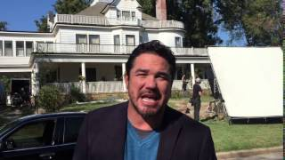 Dean Cain from the set of Gosnell Movie to Indiegogo supporters