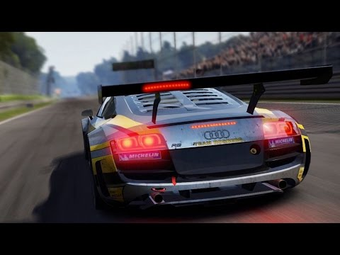 Need For Speed: Shift 2 Unleashed - Audi R8 LMS - Test Drive Gameplay (HD) [1080p60FPS]