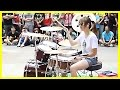 Amazing Girl Drummer Does BIGBANG   Fantastic Baby Street Performance