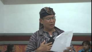 Puisi perjanjian dengan Jokowi-JK Jemblung Gaul Pak Banjir Saeran Samsidi