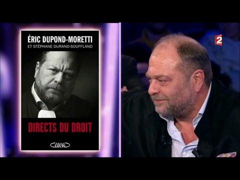 Eric Dupond-Moretti - On n'est pas couché 4 février 2017 #ONPC