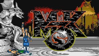 Ultimate Mortal Kombat 3 (NES Pirate) - NES Longplay - SubZero Playthrough NO DEATH RUN (LONGPLAY)
