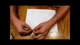 How to cut a perfectly square paper WITHOUT SCISSORS