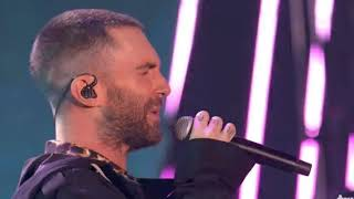 Maroon 5 - Wait ( Live on IHeart Music Awards 2018 )