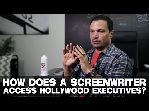 "How Does An Unsigned Screenwriter Gain Access To Hollywood Executives? by Richard ""RB"" Botto"