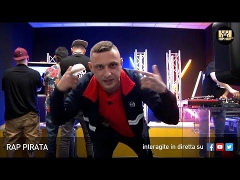 RAP PIRATA ☠️ LIVE SU HIP HOP TV 👊🏻📲