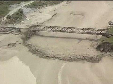 Deadly wall of water as flash floods cascade through western Nepal