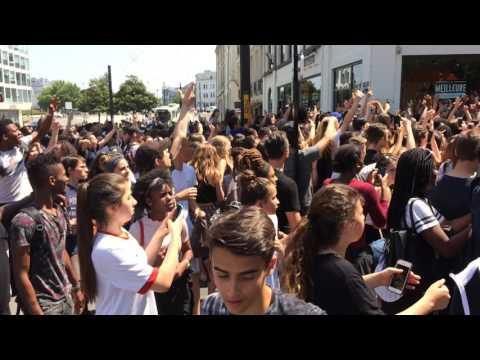 Nantes : le snapchatteur Vargasss92 était devant O'Tacos Cours Olivier de Clisson