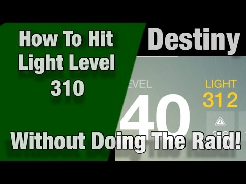 Destiny: How To Reach High Light Levels Without Doing The Raid!