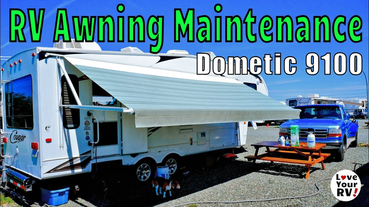 RV Power Awning Super Easy Maintenance Howto