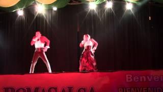 "Paul Y Priscilla ""Hasta la semana que viene"" Roma Salsa Festival 2014"
