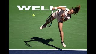 2018 Indian Wells Quarterfinal | Daria Kasatkina vs. Angelique Kerber | WTA Highlights