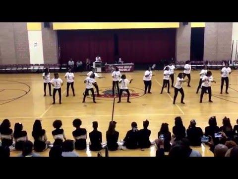 "Ridge Road Middle School Step Team - ""Amara"""