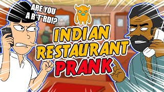 Crazy Indian Restaurant Rage Prank (animated) - Ownage Pranks