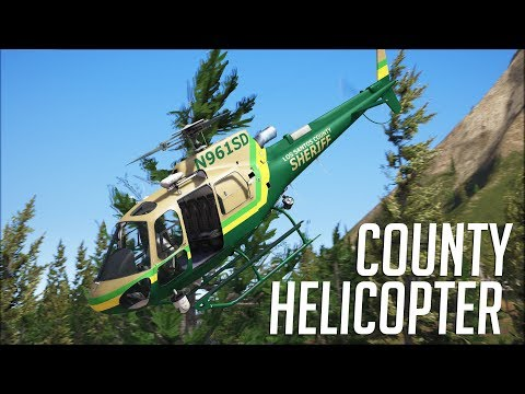 LSPDFR - Day 773 - Los Santos County Helicopter