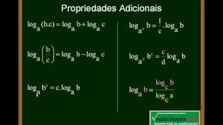Matemática - Aula 13 - Logaritmo - Parte 2