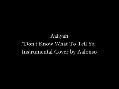 Aaliyah - Don't Know What To Tell Ya (L0NZ Instrumental)