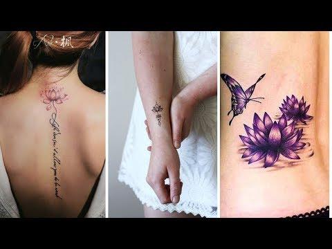 Download Tatuajes Flor Loto Para La Espalda Estilos Y Significado