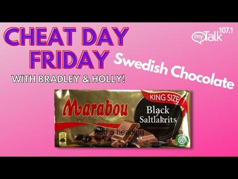 Cheat Day: Marabou Swedish Chocolate!