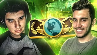 LUGIN e CF, MELHOR DUPLA DO CS - CSGO DE NOOB A GLOBAL #143