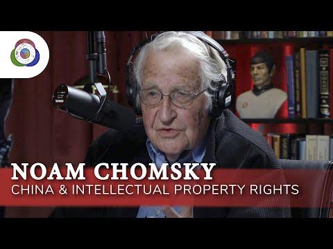 Noam Chomsky - China \u0026 Intellectual Property Rights: Origins Podcast