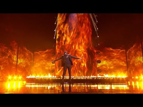 America's Got Talent 2017 Semi-Finals Johnny Manuel Performance ...