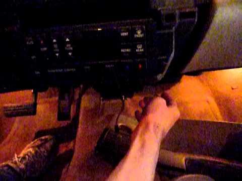 2000 Buick Century Instrument panel repair- odometer gear lights not