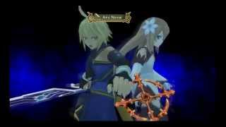 Emil and Marta Unison Attack ~ Ars Nova - Tales of Symphonia: Dawn of the New World