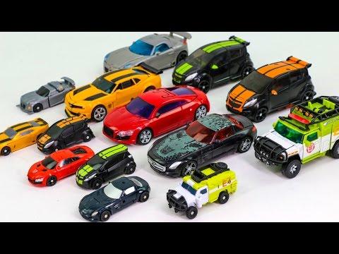Transformers Movie Bumblebee Dino Soundwave Jazz MudFlap Skidz Rachet Vehicle Robot Car Toys
