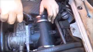 porsche boxster 986 diy cleaning the throttle body