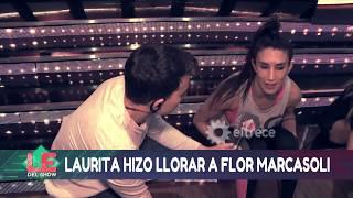 Laurita Fernández respondió sobre el llanto de Flor Marcasoli