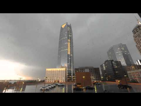 Oklahoma City Severe Weather Time Lapse