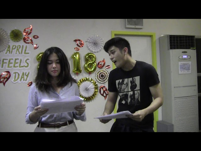 #romanceclass AprilFeelsDay 2018 Live Reading: Chasing Mr. Prefect by Katt Briones