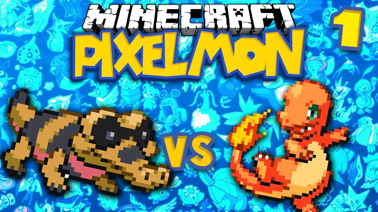 Sandile v charmander minecraft pokemon pixelmon ep 1 - Pixelmon ep 1 charmander ...