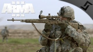Counter-Sniping the Snipers - ARMA 3 Frontline RHS PvP - USMC Marksman Gameplay