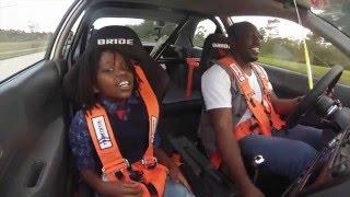 TEST DRIVE: Honda Civic EK K20A vs. Built B18 EF Hatch (my son