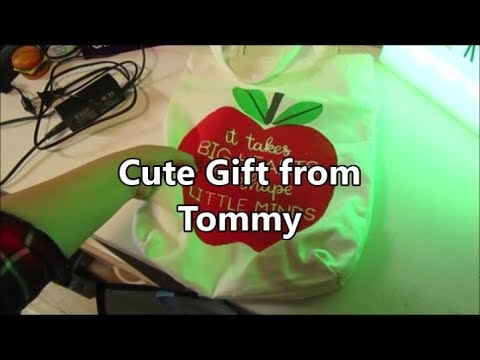 Cute Gift From Tommy 7.15.19 day